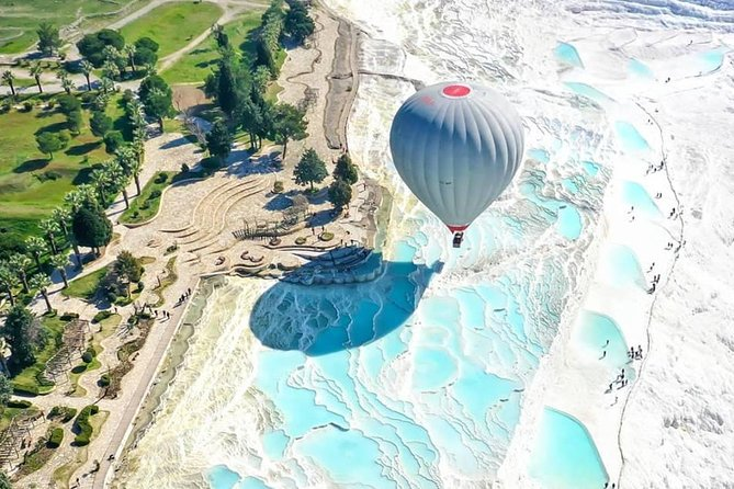 Pamukkale and Hierapolis Tour with Private Guide and Van from Izmir