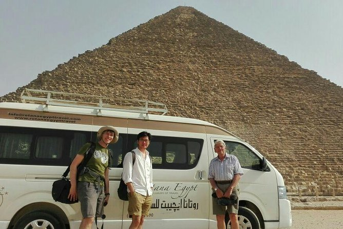 Pyramids and Egyptian Museum