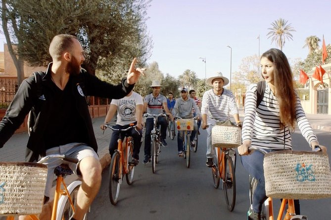 Marrakech by city bike tour