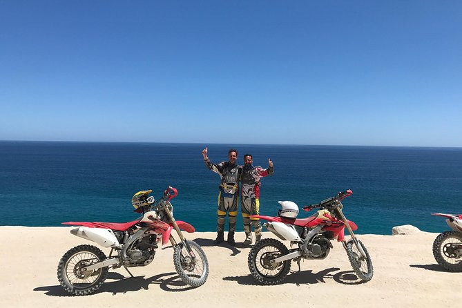 full day off road motorcycle adventure, Cabo Pulmo or Santiago waterfalls