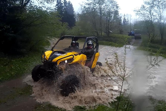 From Krakow: Off-road adventure and relax in thermal pools.