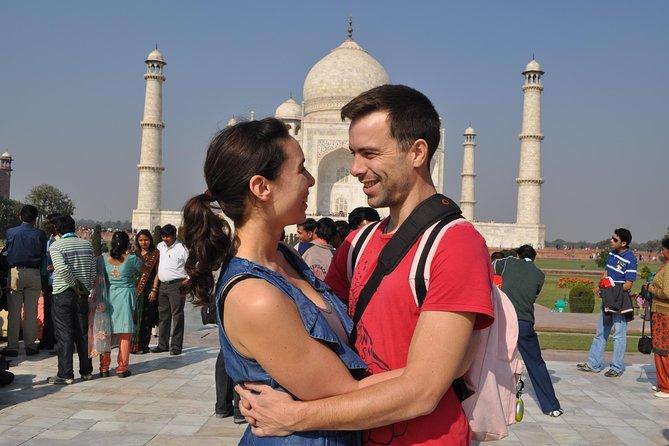 2-Day Taj Mahal Sunrise & Sunset Tour from Delhi