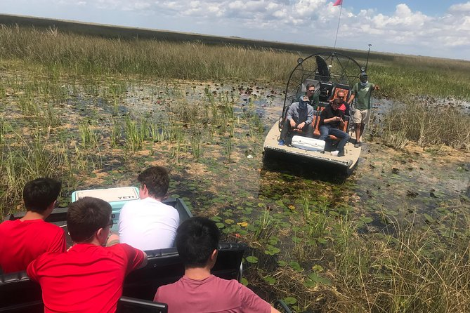 Private 2-Hour Airboat Tour of Miami Everglades