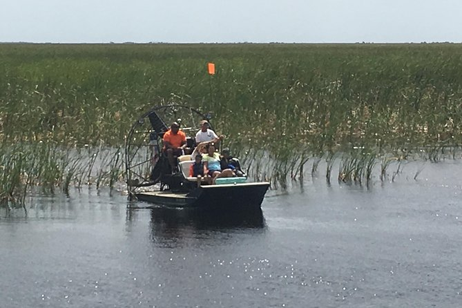 Private 1.5-Hour Airboat Tour of Miami Everglades