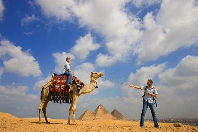 Private Day tour to Giza pyramids with camel ride and Local Egyptian lunch