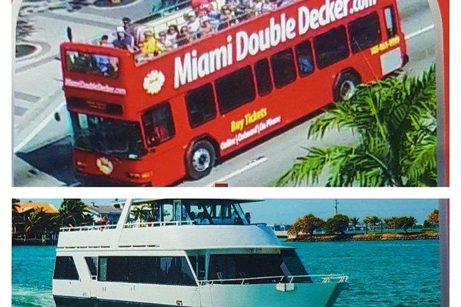Miami Hop-on Hop-off y crucero en barco