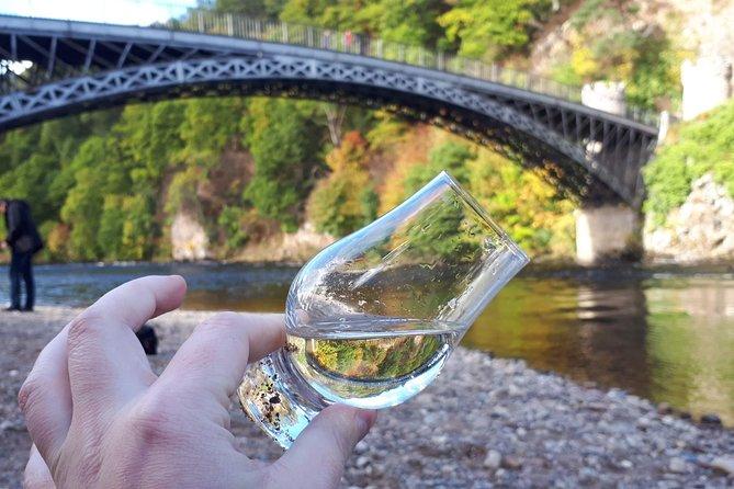 River Spey under Craigellachie Bridge