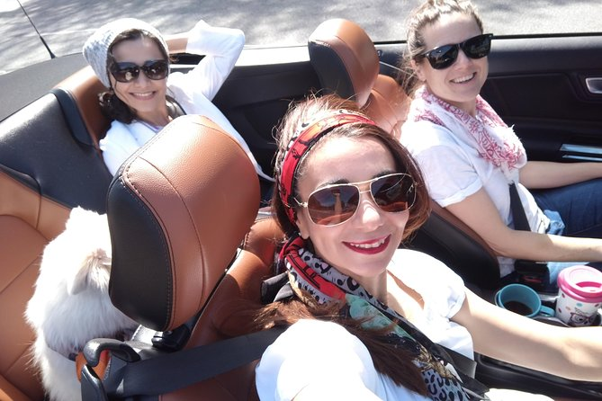 Private, customized tour of L.A for 3 in a Convertible