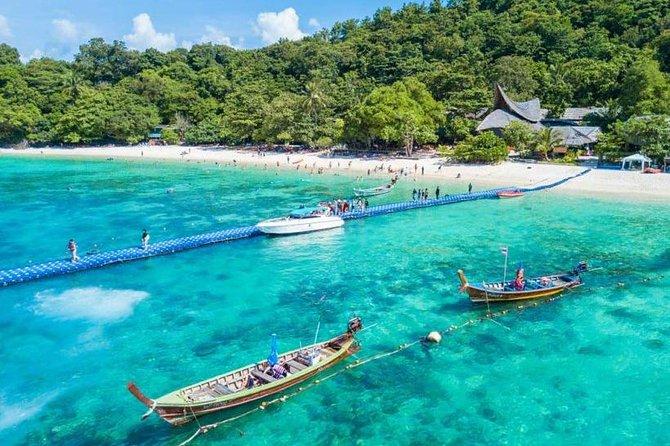 Excursion sur l'île de Phuket Maiton et les trois îles Khai en hors-bord