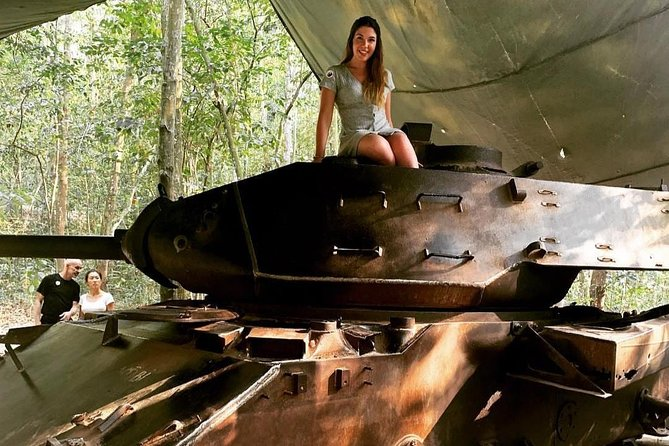 Private Cu Chi Tunnels & War Remnants Museum