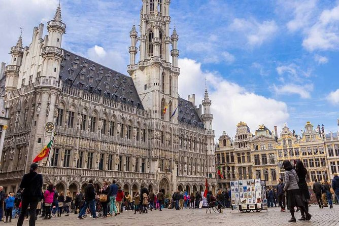 Private Brussels Airport (BRU) Transfer to Brussels city centre