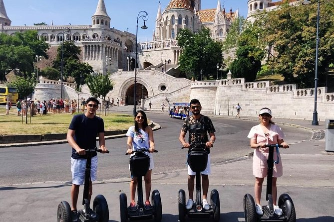 Historical Buda Castle Guided Segway Tour