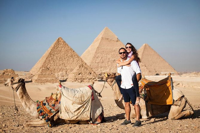 Cairo: Giza Pyramid, Sakkara & Memphis Full Day Guided Tour photo 1