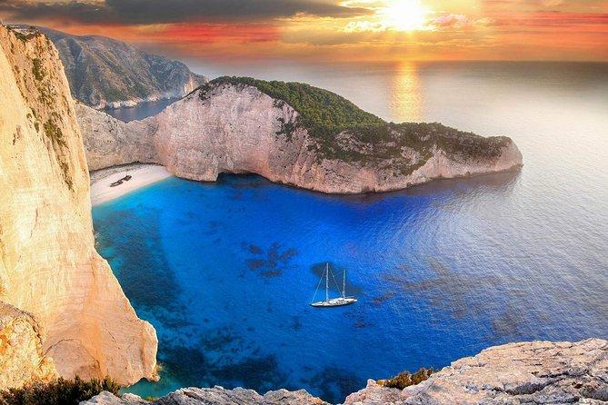 Romantic sunset cruise to Shipwreck beach