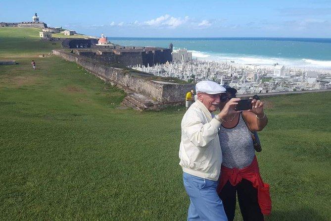 Historical walk of Old San Juan