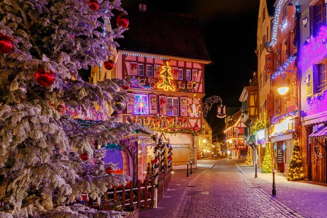 Alsace Christmas Markets Private Day Tour with Colmar from Strasbourg