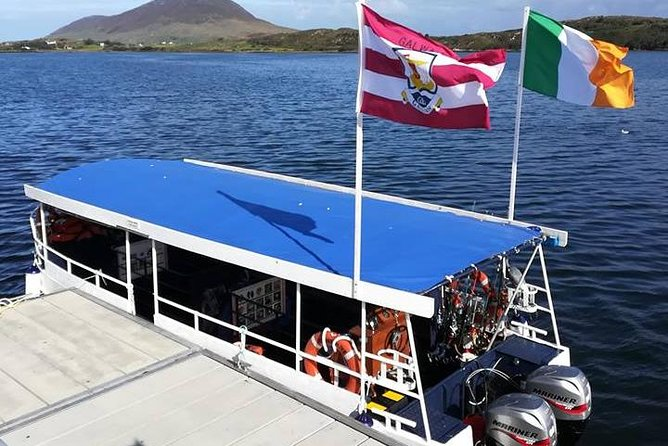 Sea angling boat cruise, Letterfrack Bay, Connemara. Guided. 2 hrs