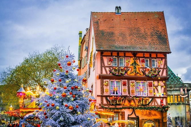 Strasbourg Christmas Market.Christmas Markets Of Alsace Tour From Strasbourg