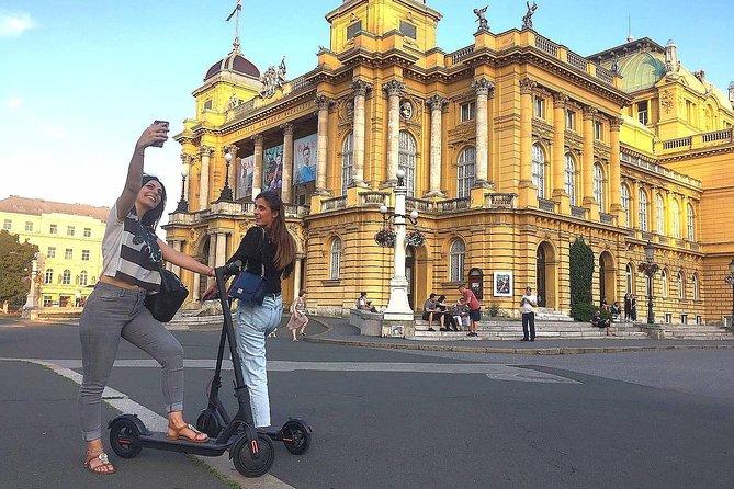 Zagreb eScooter Tour