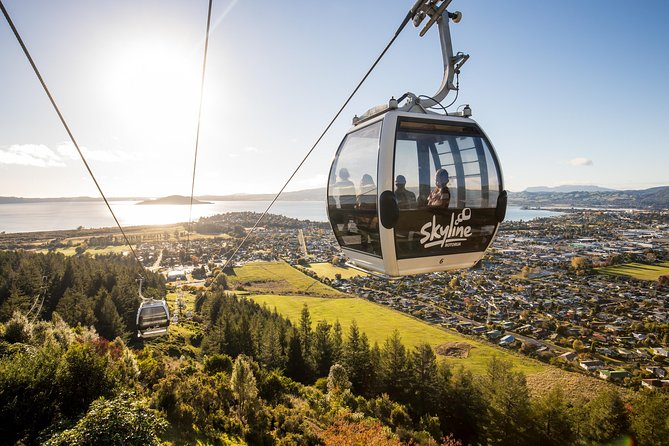 Rotorua Skyline Gondola with optional Luge Ride