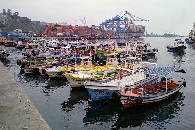 Visite Valparaíso e Casablanca do porto de cruzeiros de San Antonio até Santiago