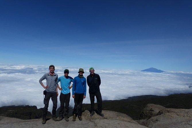 Kilimanjaro climb through Lemosho route