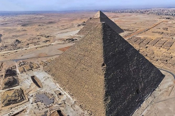 Skip the Line: The Great Pyramid of Cheops Admission Ticket With Guide & Pick up
