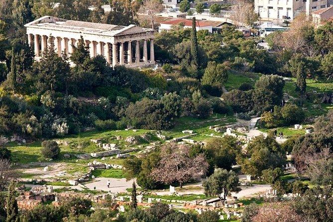 Private: Walking Tour Ancient Agora-Athens Central Market & Food Tour