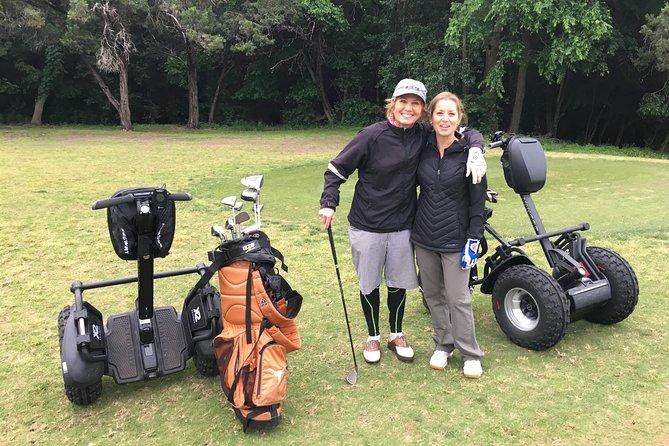 Golfing on a Segway in Austin