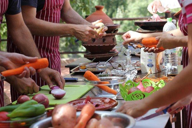 Cooking class of The Mediterranean DIET