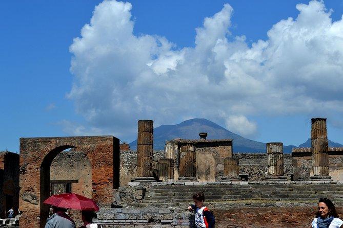 Pompeii and Vesuvius excursion + Lunch