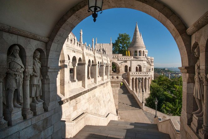 Walk in Buda with Hospital in the Rock Underground Cave Visit