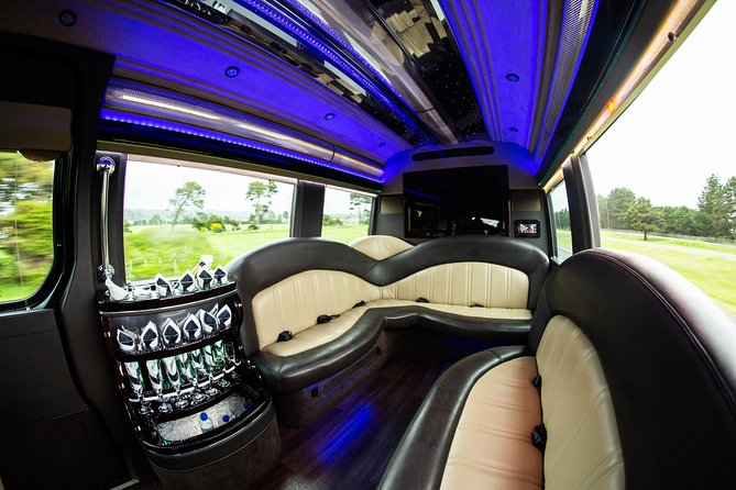 With our Mercedes-Benz Van, you get the prestige of a limousine, but with the added benefit of extra room to spread out.