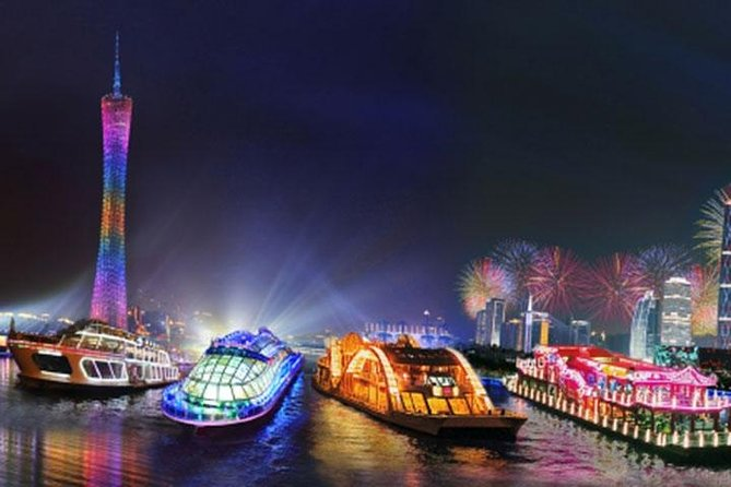 Private Guangzhou Night Tour with Pearl River Cruise and Dim-Sum Dinner