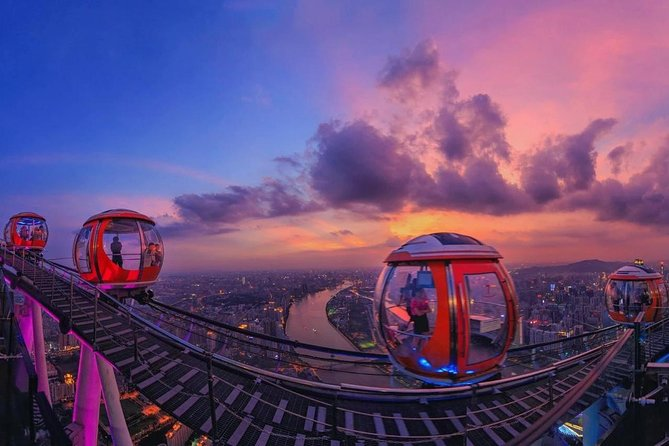 Private Guangzhou Night Tour with Canton Tower and Bar Hopping