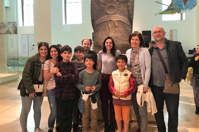 London British Museum Semi-Private tour for Kids and Families