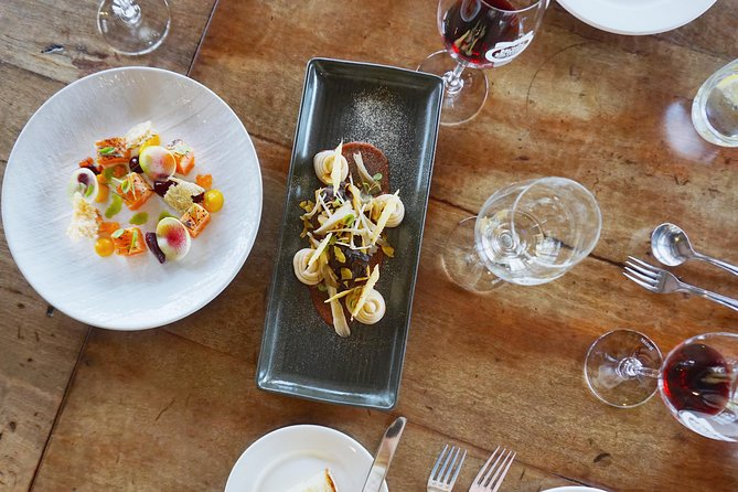 Winery Tour and Tasting with Three Course Lunch