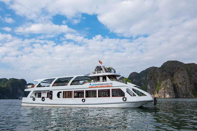 1-Day Explore Halong Bay With Cave, Kayaking and Swimming - Alova Premium Cruise