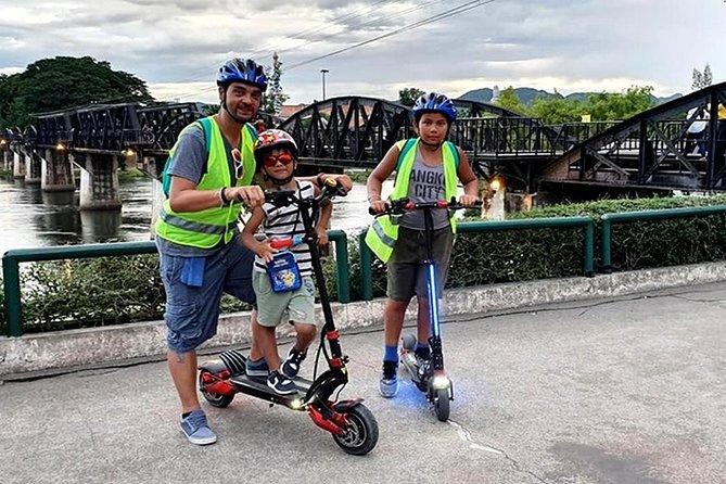 E-scooter at Kanchanaburi city