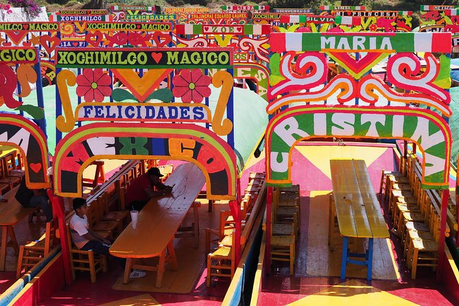 The Floating Flower Gardens Of Xochimilco