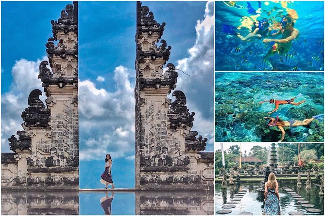 All Inclusive Ticket: Lempuyang Temple, Blue Lagoon Snorkeling and Tirta Gangga