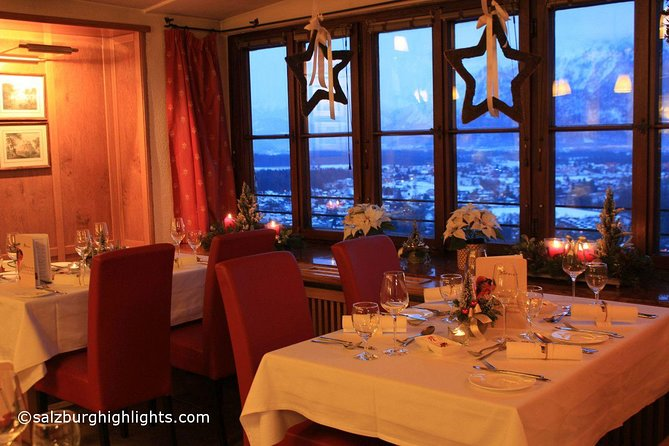 Mozart and Advent/Christmas Concert with Dinner at Fortress Hohensalzburg
