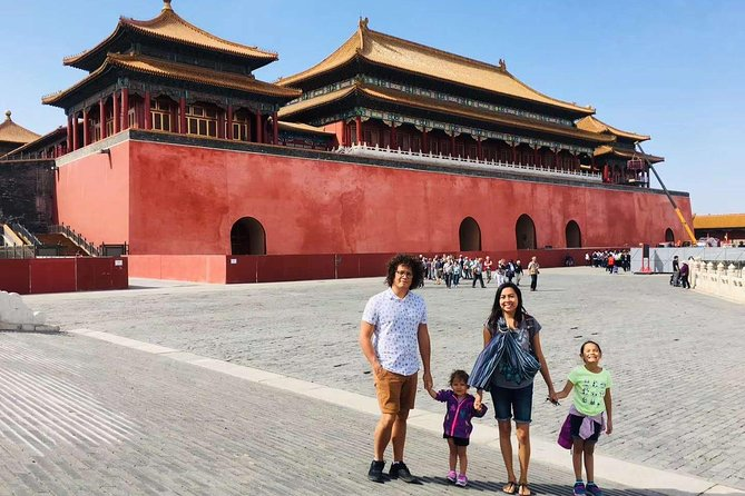 Kids and Family Friendly Beijing City Private Sightseeing Tour