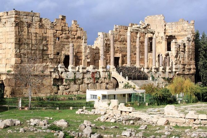 One- day tour to Baalbek castle, Anjar castle and Hajar Al Hibla historical site