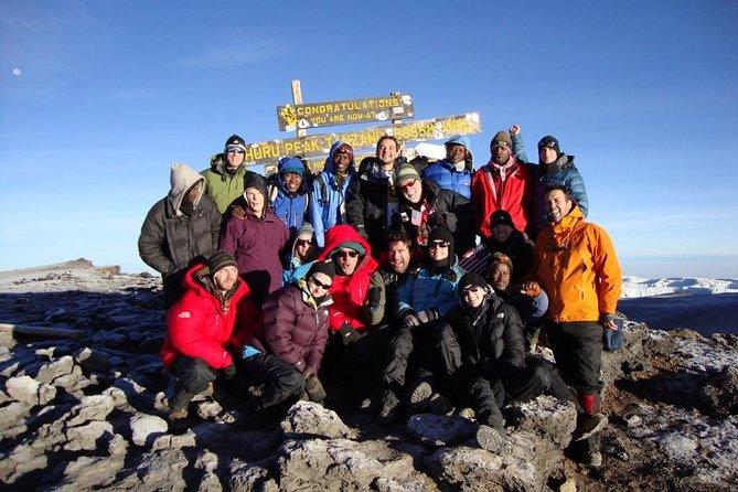 6 Day Machame route standard climb