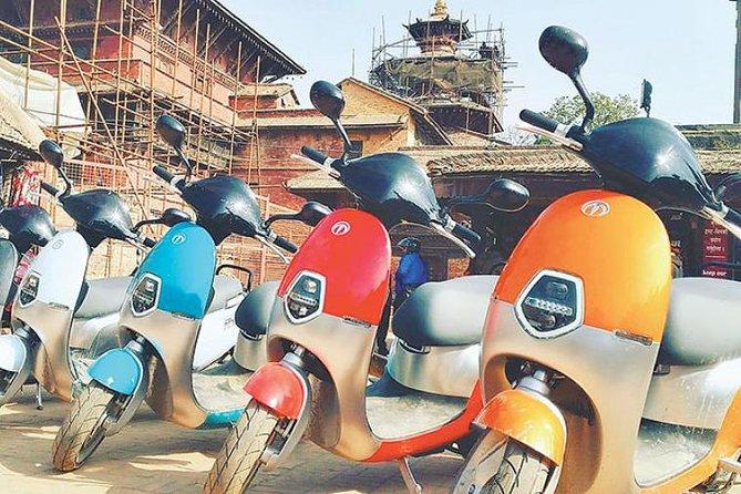 Scooty tour in Kathmandu