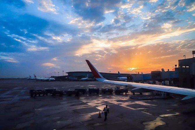 Private Jinan Yaoqiang International Airport Departure Transfer from Jining or Qufu Hotels