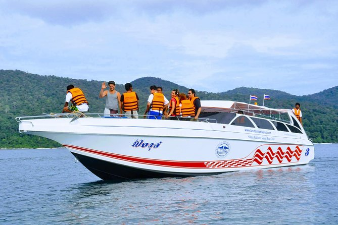 Phuket to Langkawi by Satun Pakbara Speed Boat and Ferry