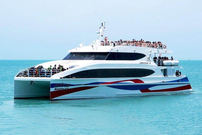 Koh Lanta to Koh Tao by Minivan, Lomprayah Coach and High Speed Catamaran