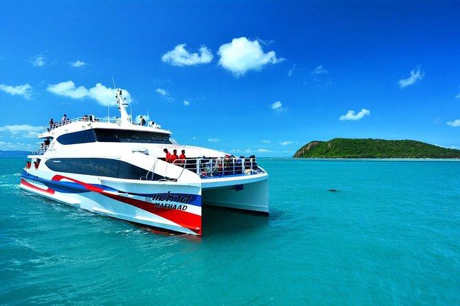 Koh Phangan to Khao Sok by Lomprayah High Speed Catamaran and Shared Minivan